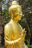 Golden buddhistic figurine Royalty Free Stock Photography