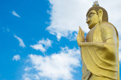 Golden Budha Stock Images