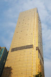 Golden building in guangzhou Royalty Free Stock Image