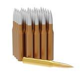 Golden bullet Royalty Free Stock Image
