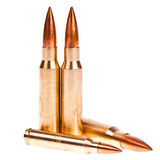 Golden bullet Stock Photography