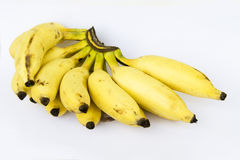 Golden Bunch of Banana Royalty Free Stock Photos