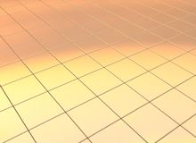 Golden business background. Golden business mosaic tile background Stock Images