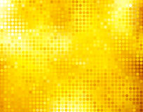 Golden business mosaic. Golden background Royalty Free Stock Photography