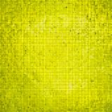Golden business mosaic. Creative background Royalty Free Stock Photos