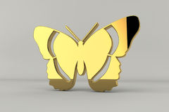 Golden Butterfly Royalty Free Stock Images