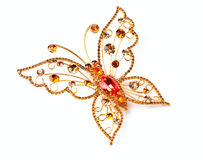 Golden butterfly Royalty Free Stock Photography