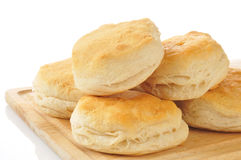 Golden buttermilk biscuits Stock Photo