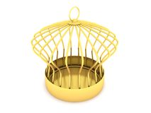Golden Cage Royalty Free Stock Images