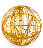 Golden cage Stock Photography