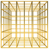 Golden cage Royalty Free Stock Photography