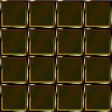 Golden cage abstract brown pattern. Geometricpattern. Design element. Golden cage abstract mosaic background. Sketch in brown, yellow and black colors Royalty Free Stock Photo