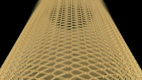 The Golden Cage with different DOF able to loop seamless stock footage
