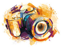 Golden Cam Royalty Free Stock Image