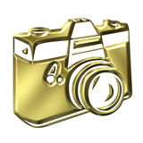 Golden Camera Royalty Free Stock Images