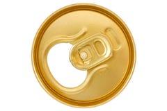 Golden  can top Royalty Free Stock Photos