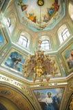 Golden Candelabrum Stock Images
