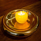 Golden candlestick Royalty Free Stock Photo