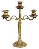 Golden candlestick Stock Image