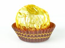 Golden Candy Royalty Free Stock Photography