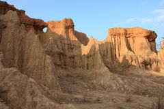 Golden canyon Stock Image