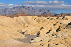 Golden Canyon, Death Valley stock images