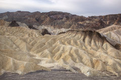 Golden Canyon, Death Valley Royalty Free Stock Image
