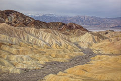 Golden Canyon, Death Valley Stock Photo