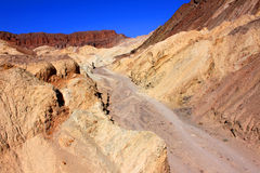 Golden Canyon of Death Valley Stock Photography