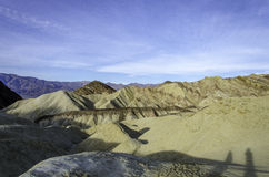 Golden Canyon, Death Valley national Park California Royalty Free Stock Photo