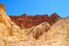 Golden Canyon in Death Valley National Park Stock Images