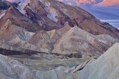 Golden Canyon Death Valley Stock Photos