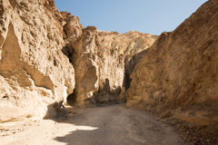 Golden Canyon Trail, Death Valley NP, California, USA Stock Images