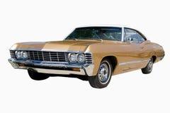 Golden Car Stock Image