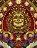 Golden Carousel Design Stock Image