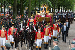 Golden carriage Stock Photography