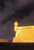 Golden Castle Del Morro Royalty Free Stock Image