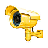 Golden cctv Royalty Free Stock Photos