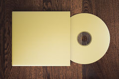 Golden CD Royalty Free Stock Images