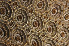 Golden ceiling Stock Photo