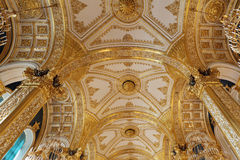 Golden ceiling Stock Photography