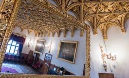 Golden ceiling Stock Photos