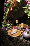Golden celebration Royalty Free Stock Image