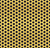 Golden cell background. Vector - Golden cell background, pattern stock illustration