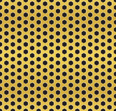 Golden cell background (version 2) Stock Photo