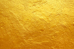 Golden cement texture background Stock Photography