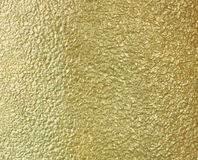 Golden cement wall Stock Image