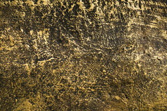 Golden cement wall textured Royalty Free Stock Photos