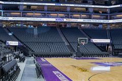 Golden 1 Center Sports Complex 9 Royalty Free Stock Photography