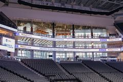 Golden 1 Center Sports Complex 8 Royalty Free Stock Images
